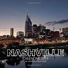 Nashville Calendar 2019: 16 Month Calendar