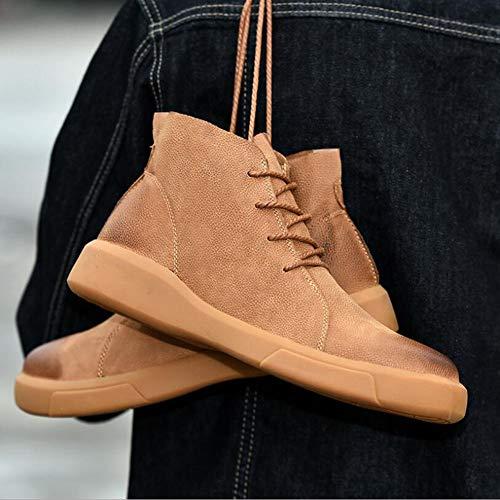 Travel Mi A De Cuir Mollet Molleton A Hiver Confort Hommes Mode 39 Chaussures pour Marche Bottes De Chaussures Comfort De Style Bottes Casual Xue Nubuck Bottines Automne Martins De Course wpqHAOn