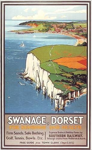 A3 Railway Travel Art Poster Swanage Waterloo Print