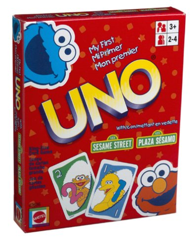 SESAME STREET MY FIRST UNO KING-SIZE Card Game