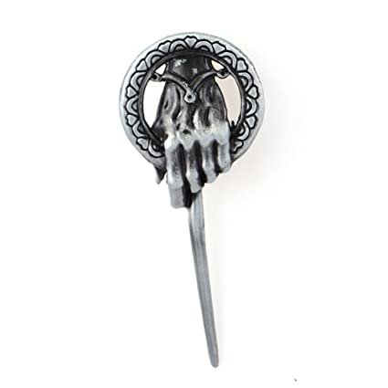 Algol - Game of Throne Song of Ice and Fire Brooch Silver ...