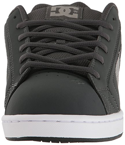 DC Shoes Mens Net Se Low Top Shoes Grey Ash