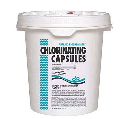 Chlorinating Capsules 35Lb Lonza Swimming Pool Accessories 40693A 785336406930 by LONZA