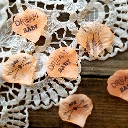 Dream Catcher Baby Shower Decorations ideas, Boho Baby Shower Decorations 100 pc]()