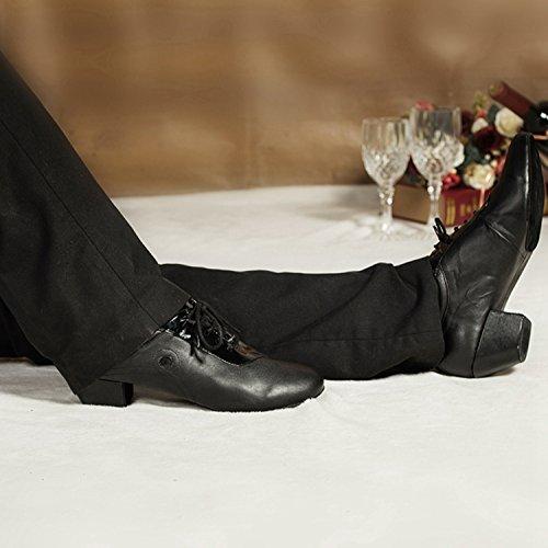 Miyoopark ,  Herren Ballsaal , Schwarz - Black-4.5cm heel - Größe: 40