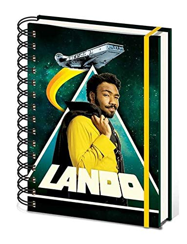 Pyramid International Star Wars Solo Wiro Notebook A5 Lando Cancelleria