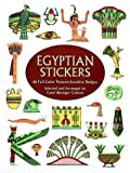 Egyptian Stickers, Carol Belanger Grafton, 0486408272