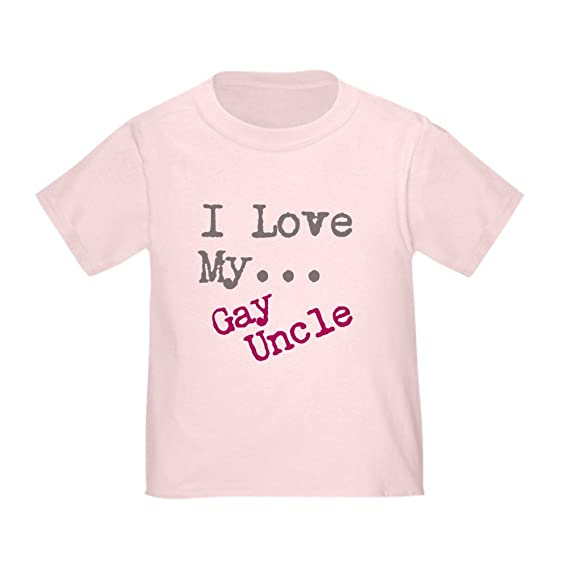 2b586f576 Amazon.com: CafePress - I Love My.Gay Uncle T-Shirt - Cute Toddler T-Shirt,  100% Cotton: Clothing
