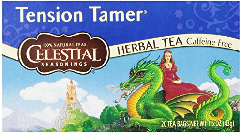 Celestial Seasonings Tension Tamer Thé, 20 comte (Pack de 6)