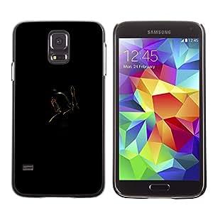 A-type Arte & diseño plástico duro Fundas Cover Cubre Hard Case Cover para Samsung Galaxy S5 (Bobba Fett)