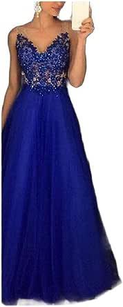 CuteRose Women Evening Sequin Embroidered Bridesmaid Big Hem Long Maxi Dresses