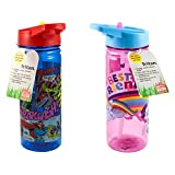 Zak Tumbler Sip Water Bottle 19 Ounce, Colors and