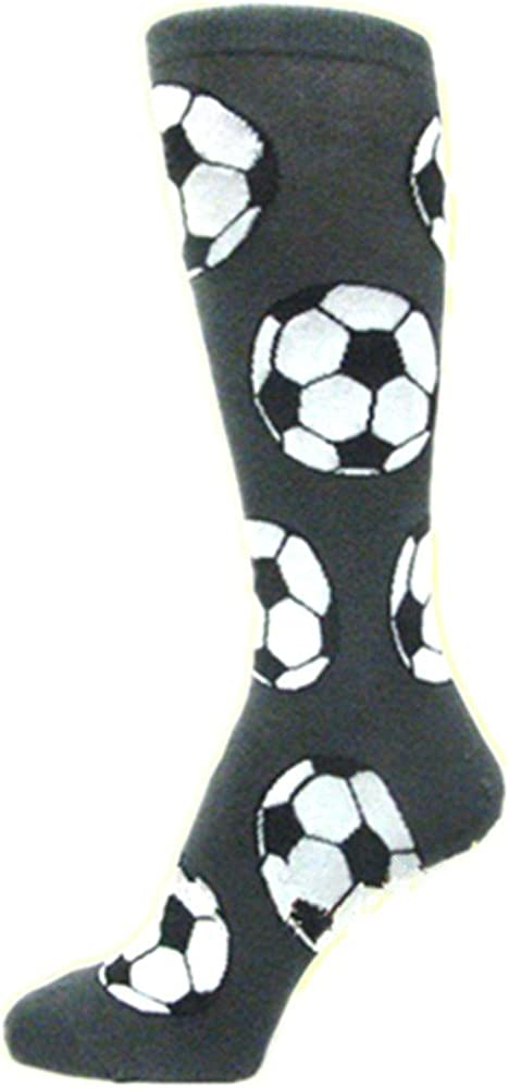 Men's SOCCER BALL Design CHARCOAL DARK GRAY DRESS SOCKS for Soccer Dad &  Coach at Amazon Men's Clothing store