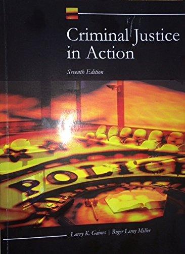Read Online Criminal Justice in Action pdf
