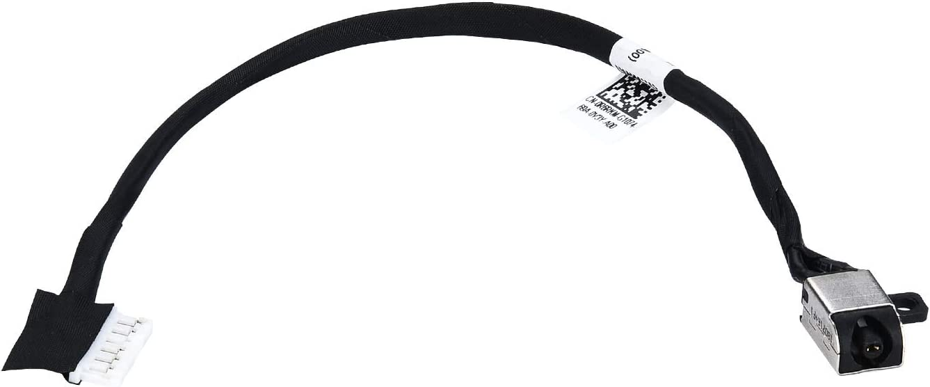 LvPowA+ DC Power Jack Harness Cable for Dell Inspiron 15 5565 5567 I5567-1836GRY I5567-4563GRY Inspiron 17 5765 i5765 17 5767 i5767 P66F001 P66F002 P32E P32E002 P32E001 BAL30 DC30100YN00 [1 Pack]