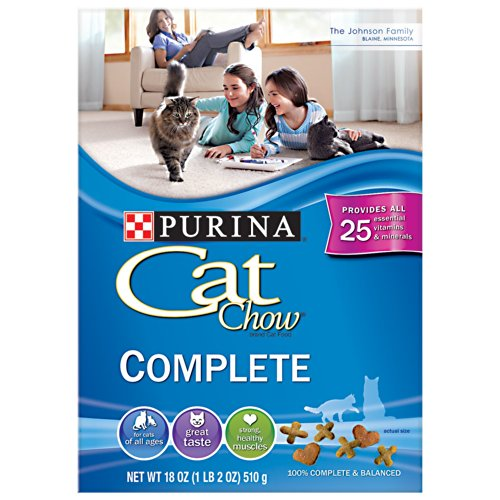 Purina Complete Formula Cat Chow Cat Food 18 oz