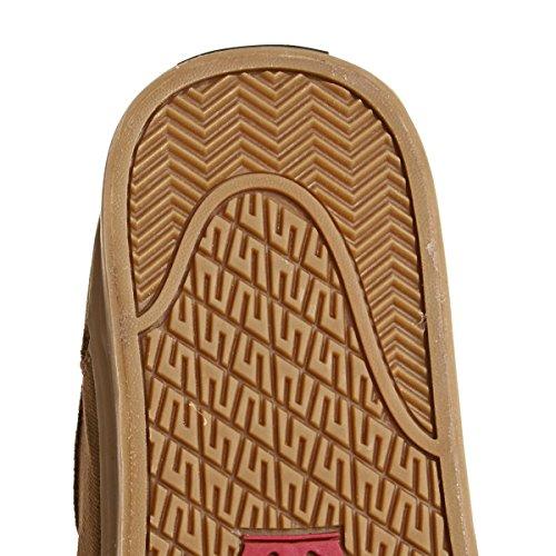 Sneaker Supra Shredder In Pelle Scamosciata Marrone