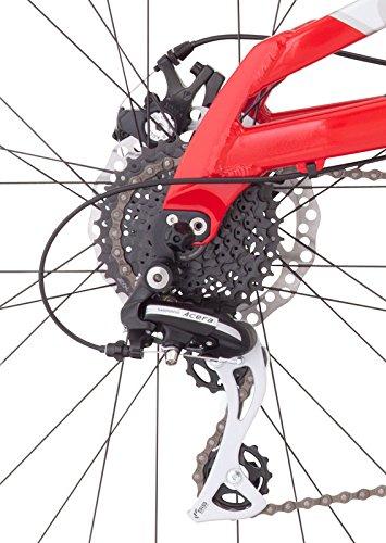 f8cbcacf2bc Diamondback Bicycles Recoil 29er Full Suspension Mountain Bike, Light  Silver, 20