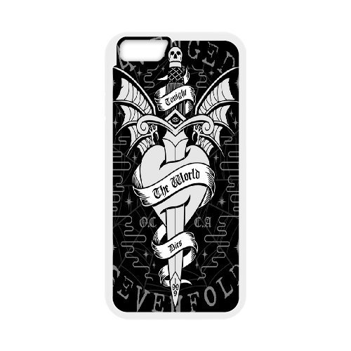Avenged Sevenfold Phone Case And One Free Tempered-Glass Screen Protector For iPhone 6,6S 4.7 Inch T98223