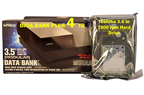 JFJ Disc Repair PS4 Data Bank Plus 4 TB - PlayStation 4