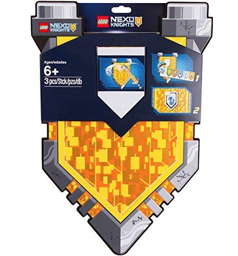 Lego Nexo Knights Power Up Shield 853507 (Lego Bricks & More Building Plate 628)