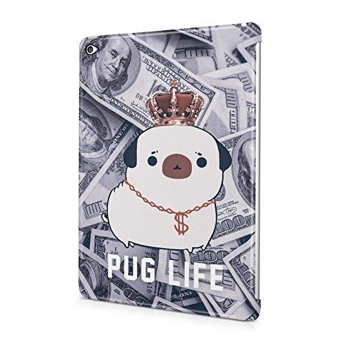 Pug Life Rich Dog Dollar Pattern Apple iPad Air 2 Plastic...