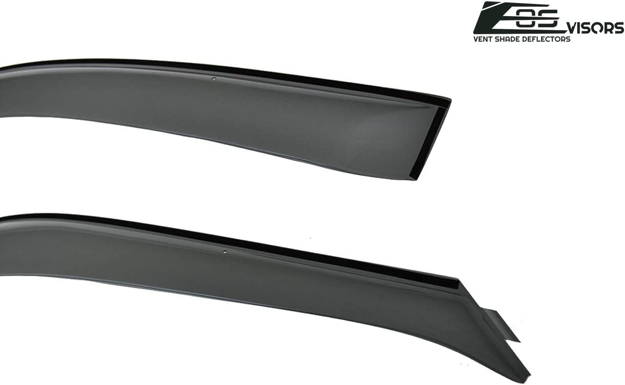In-Channel Model Specific Window Visor 2pcs For Honda Prelude 1997-2001