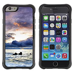 Pulsar Defender Series Tpu silicona Carcasa Funda Case para Apple iPhone 6(4.7 inches) , A brighter future