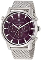 Tommy Hilfiger Men's 1790877 Sport Luxury Multi-Function Grey Dial Stainless Steel Bracelet Watch