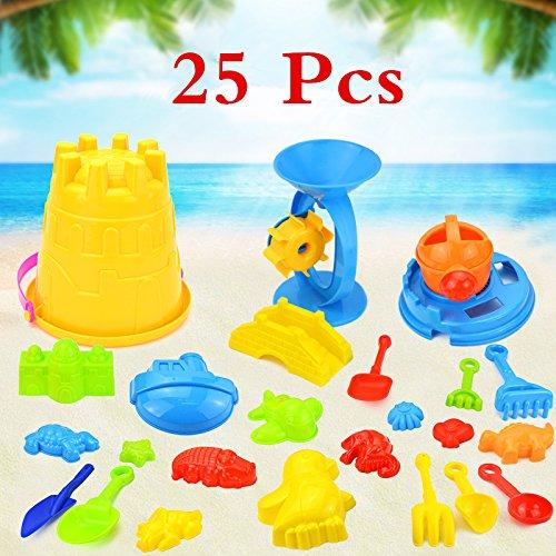 Skyeye 25Par Juguetes de Cubo de Castillo Juguetes de Juguete de Playa de Beb/é Parque de Juego dise/ñado para ni/ños