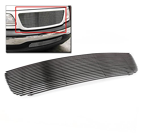 ZMAUTOPARTS Upper Billet Grille Grill Insert For 1999-2003 Ford F-150 Honeycomb Style 03 Ford F150 Billet Grille