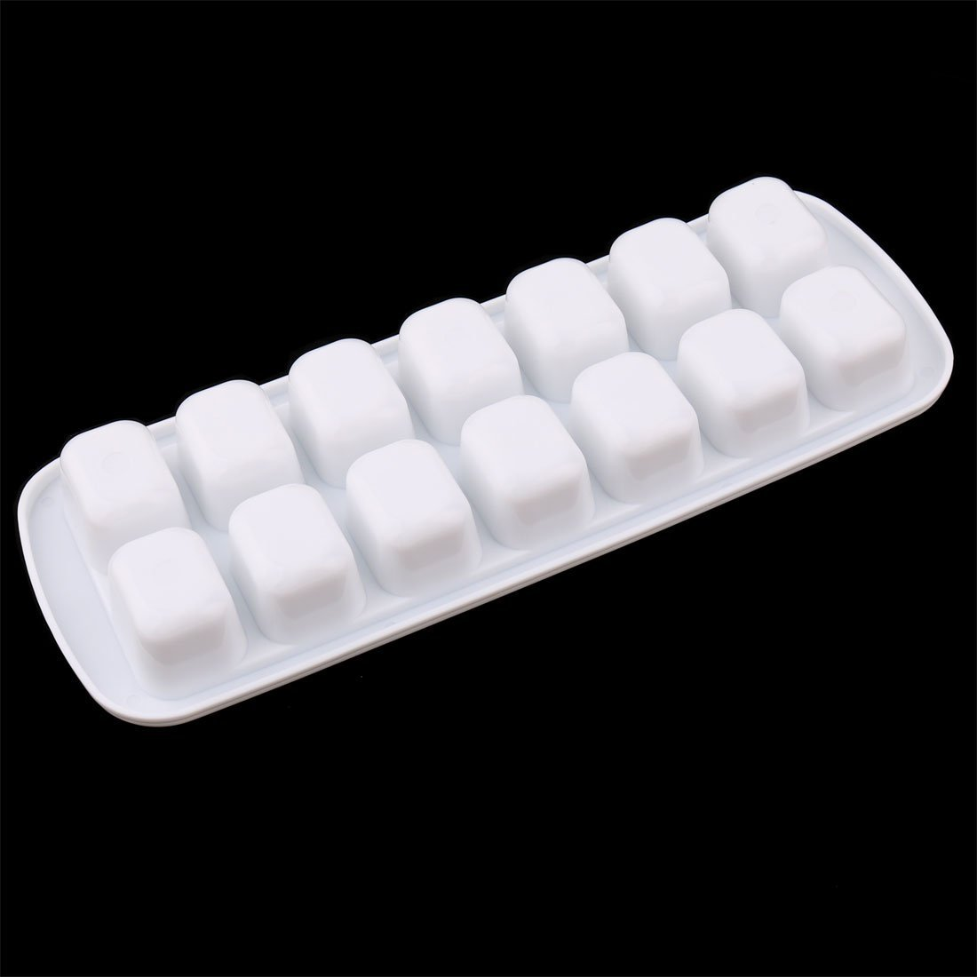 Amazon.com: DealMux Plastic Rectângulo Kitchen 14 Compartimento Ice Cube Tray Mofo Branco: Kitchen & Dining