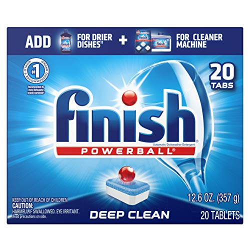 Finish All in 1 Powerball Fresh, 20ct, Dishwasher Detergent Tablets Now $2.85
