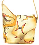 ZIMBELMANN SOPHIE Genuine Nappa Leather Hand-painted Tote Shoulder Bag