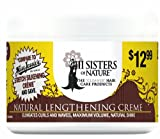 III Sisters of Nature Natural Lengthening Creme, 8 Ounce