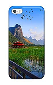 Excellent Design Lake Bridge Thailand Holiday Wallpapers For Iphone 6 Phone Case Cover (3D PC Soft Case)