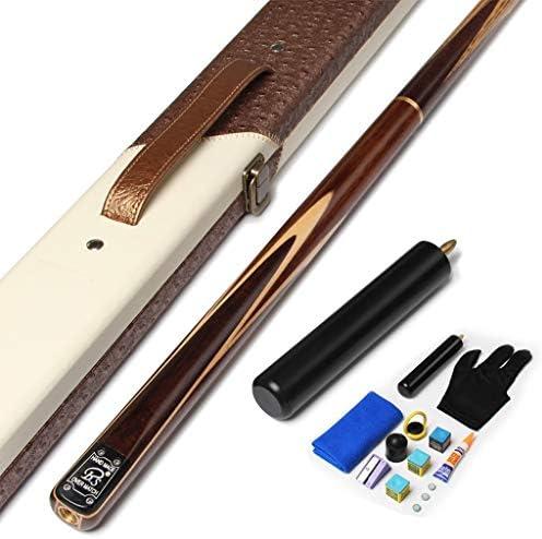 WXS 3/4 Taco de Billar, 145cm Hecho A Mano Arce Punta 10 Mm Taco De Snooker con Extensión Y Cue Case Set: Amazon.es: Deportes y aire libre