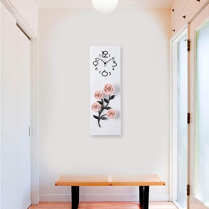 : RKY Wanduhr, Uhr, Metall Wohnzimmer, Hause