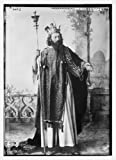 Photo: Herod (R. Lang) in passion play,Oberammergau,Germany,theatrical,1900,costume