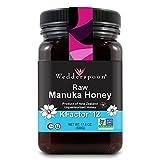 Wedderspoon Raw Manuka Honey KFactor 12, 500 Grams