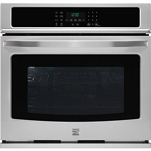 Kenmore 49513 30″ Electric Single Wall Oven with True Convection in Stainless Steel, includes delivery and hookup (Available in select cities only)