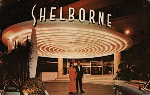 (The Shelborne Miami Beach, Florida Original Vintage Postcard)