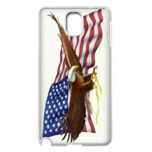 Tony Diy LIUMINGGUANG cell phone case cover Style-4 -Bald Eagle On US Flags Design protective case cover For Samsung Galaxy NOTE4 case cover IGCWeq4tzqQ