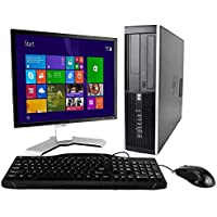 Fast HP Business Desktop Computer Tower PC (Intel Core 2 Duo, 8GB Ram, 2TB HDD, WIFI, DVD-RW, Complete PC With 17 Monitor, K.B & Mouse) Win 7 Pro With CD (Certified Refurbished)