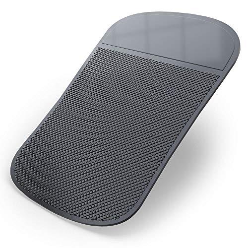 Ganvol Anti-Slip Car Dash Sticky Pad Extra Large (8.3 x 5.3 in), Heat Resistant Non-Slip Mat, Dashboard Cell Phone Holder, Laser Radar Detector Mounting Mat, Heat Resistant - Dont Melt Under Hot Sun