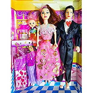 SUPER TOY Beautiful Family Doll...