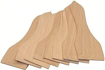 Hofmeister Holzwaren 16 Stuck Racletteschieber Amazon De Kuche