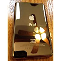 Metal Back Rear Housing Case Cover panel for iPod 7th Gen Classic 160GB Thin