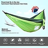 Double Camping Hammock,with Tree Straps,Portable...