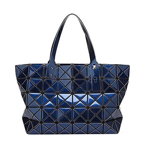 Bag à Pliant CY Sac Variété Portable Géométrie Bandoulière Darkblue Main Coréenne Mode à Sacs TAwgqdXxFX